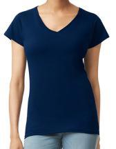 Softstyle® Ladies` V-Neck T-Shirt